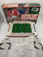 VINTAGE Tomy ELECTRIC SUPER CUP FOOTBALL 1980s game + WORKING
