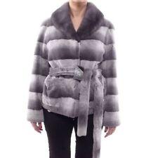 Autres vestes/blousons gris en fourrure pour femme