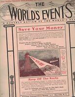 The World's Events Magazine September 1902 Coronation of King Edward VII