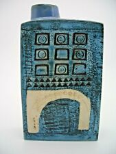 Troika Chimney Vase Decorated by Marilyn Pascoe (RARE St Ives)