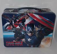 Vandor Marvel Captain America Civil War Tin Lunchbox MegaCon Exclusive RARE READ