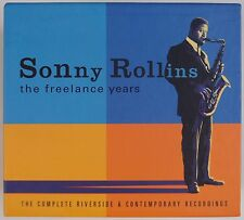 SONNY ROLLINS: The Freelance Years COMPLETE BOX SET CD Riverside Jazz