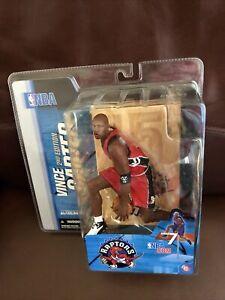 VINCE CARTER 2nd Edition McFarlane Toys NBA Series 7 Toronto Raptors Red Jersey