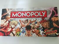 RARE NEW MONOPOLY STREET FIGHTER COLLECTORS EDITION BOARD GAME.