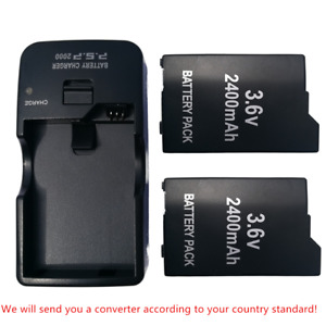 For Sony PSP2000 2006 3000 3006 Battery Psp-S110   Battery Pack /AC Wall Charger