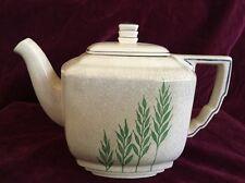 Leigh Ware Green Wheat Tea Pot Art Deco 1920s Gale Turnbull Antique ~ Rare!!!