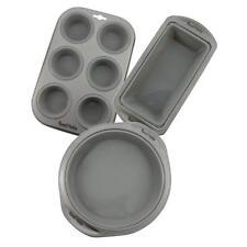 Moldes de hornear color principal gris para tartas y bizcochos