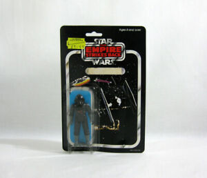 1982 Vintage Star Wars ✧ TIE FIGHTER PILOT ✧ Palitoy 45-Back SEALED MOC E53