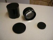 Sicor Video Telephoto Converter in Case - 52mm Thread (2611)