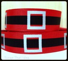 Printed Red Ribbons & Ribboncraft