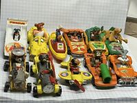 Collection Of Old Corgi/dinky Die Cast Cars.Mystery  Tom & Jerry Popeye 11 Car