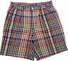 Ralph Lauren Shorts khaki Chino Plaid Size 36 NEW RRP $199 Mens Polo by