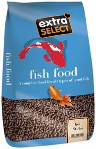 Extra Select Complete Koi Sticks Fish Food, 10 kg