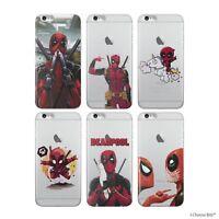 Marvel Deadpool Coque/Etui/Case pour Apple iPhone 5 5s SE TPU/Gel / iCHOOSE BITZ