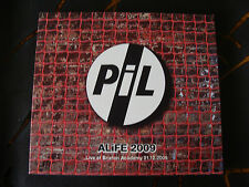 Slip Double: PIL : Alife 2009  Live Brixton 2 CDs : Number 002 of 100 Ltd Ed