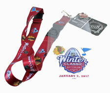 2017 NHL WINTER CLASSIC CHICAGO BLACKHAWKS ST. LOUIS BLUES LANYARD HOLDER PIN