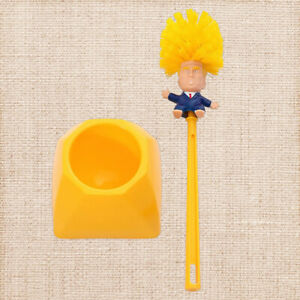 President Toilet Bowl Brush Gag Made Fast WC DONALD Hand Donald Trump Funny Gift