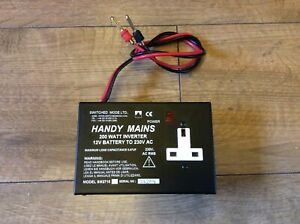 Handy Mains 200W inverter by Switched Model Ltd