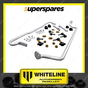 Whiteline F & R Sway bar vehicle kit for SUBARU IMPREZA WRX GV SEDAN GR HATCH