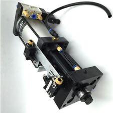 Pneumatic Air Boosting Pressure Cylinder Stroke 13mm 3000KG  for BT40 Spindle