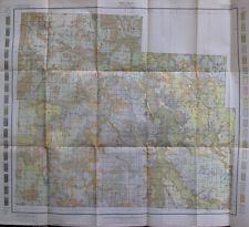 Folded Color Soil Survey Map Cedar County Missouri Stockton Jerico Springs 1909