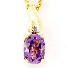 Handmade Beauty Amethyst Fine Necklaces & Pendants