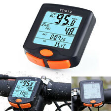 Wireless Bike Cycling Bicycle Cycle Computer Odometer Speedometer Back light x