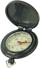Compass Pocket Hinged Lid Plastic Push Button Liquid Filled Dial Bow Explorer