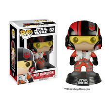 POP! Star Wars Episode VII #62 - Poe Dameron Bobble-Head Vinyl Figure Funko