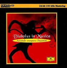 Diabolus in Musica: Accardo interpreta Paganini K2HD, CD AUDIOPHILE NUMBERED