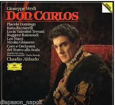 Verdi: Don Carlos / Abbado, Domingo, Ricciarelli - LP Deutsche Grammophon