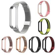 Para Xiaomi Mi Band 3 / 4 Acero Inoxidable Reloj Banda Pulsera Correa Magnética