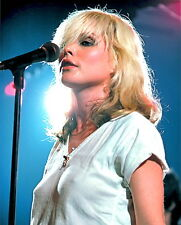 1980's DEBBIE HARRY (Blondie)  color candid classic  photo (Celebrities & Musici