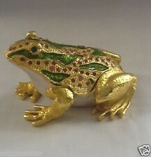 Metal Frog Handmade Jewelry Box Colletion