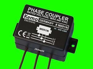3-Phasenkoppler POWERLINE Netzwerkkoppler Phasen Koppler 10-650 mBit Verstärker