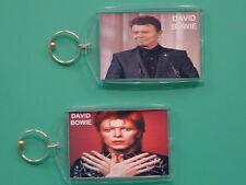 DAVID BOWIE - with 2 Photos - Designer Collectible GIFT Keychain 02