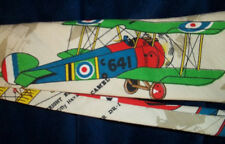 """AIR PLANE  TIE  """" C641, G- 71"""" ,  CLOTH  HAND MADE  VERY UNIQUE!  FREE SHIPPING"""