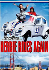 Disney Sequel Herbie The Love Bug Rides Again Volkswagen Beetle Car Movie on DVD