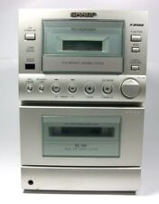 SHARP AM/FM CD Player w/o Speakers & Remote AS-IS