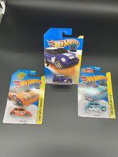Hot Wheels Morris Mini Rare Factory Stickered Card Lot Of 3 2011 2015 Chase VHTF