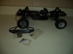 1/10 RC SCALE CRAWLER CHASSIS 35T MOTOR WITH TIRES HITEC HS645MG NEW
