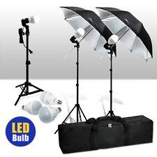 Photography Photo Studio Umbrella Continuous Lighting Kit 36 LED Premium Bulb