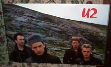 U2 Vintage Unforgettable Fire Group  Poster