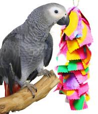 1555 FLUFF BIRD TOY parrot cage toys cages parakeet cockatiel cozzy snug binkie