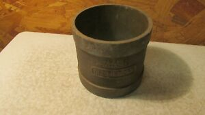 Antique Ohaus One Pint Dry Measure Canister Gun Powder