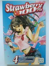 Strawberry 100%, Vol. 4 Manga by Mizuki Kawashita (Paperback, 2008)