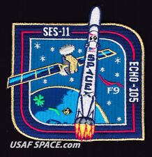 NEW SES-11 ECHO-105 - SPACEX ORIGINAL FALCON 9 F9 Launch SATELLITE Mission PATCH