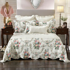Rosedale Multi Floral Bedspread / Coverlet Set or Accessories by Bianca King