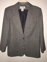 Via Condotti Woman's Tweed Blazer Size 6