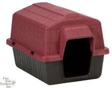 Dosckocil (Petmate) DDS25118 Barnhome III Dog House, X-Small, Samba Red/Black ,